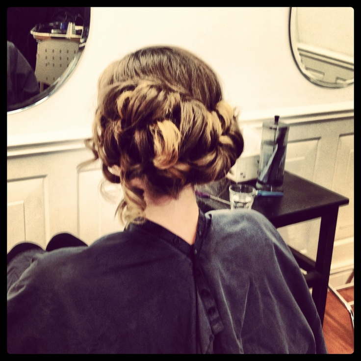 Updo :) by me