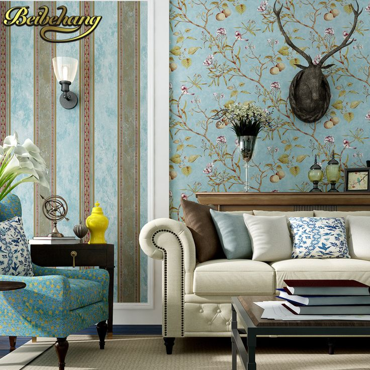 Aliexpress.com : Buy beibehang papel de parede 3d American retro apple tree flowers bird wallpaper for walls 3 d contact paper wall paper living room from Reliable bird wallpaper suppliers on LONG fashion Home Decoration