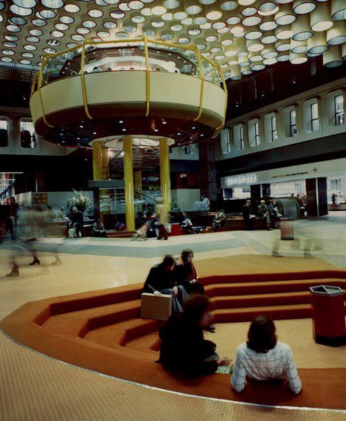 Eldon Square shopping centre. Newcastle. 1980s