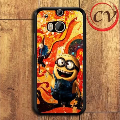 Minion HTC One M8 Mini Black Case