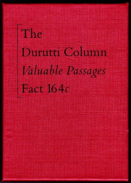 Factory Records cassete - The Durutti Column