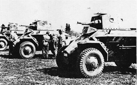 Csaba armoured cars