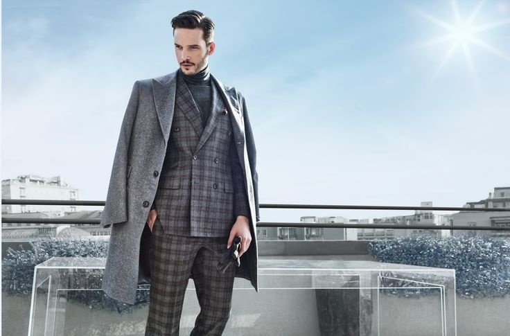 Larusmiani FW15/16 Campaign shot on the rooftop of Milan