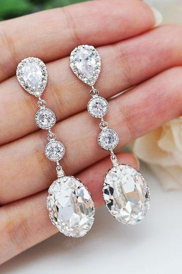 bridal earrings // love, love, love!