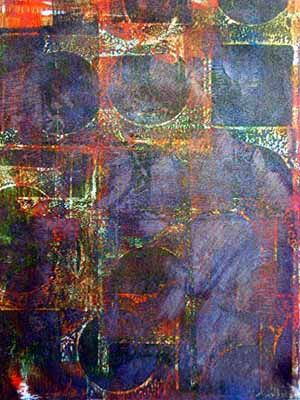 Scrapbooking.com -- Article - Square One: Mono Printing with a Gelli Arts Printing Plate