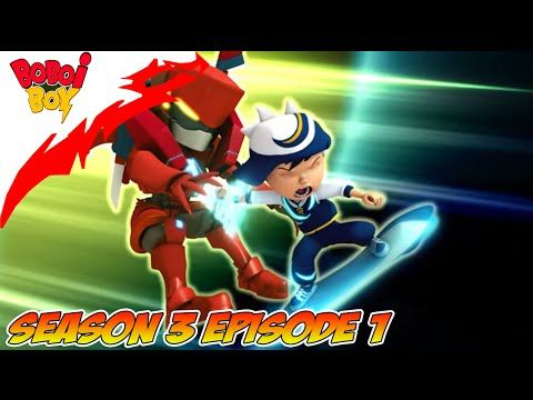 BoBoiBoy TERBARU Season 3 Episode 1: BoBoiBoy vs Ejo Jo FULL (Part 1)