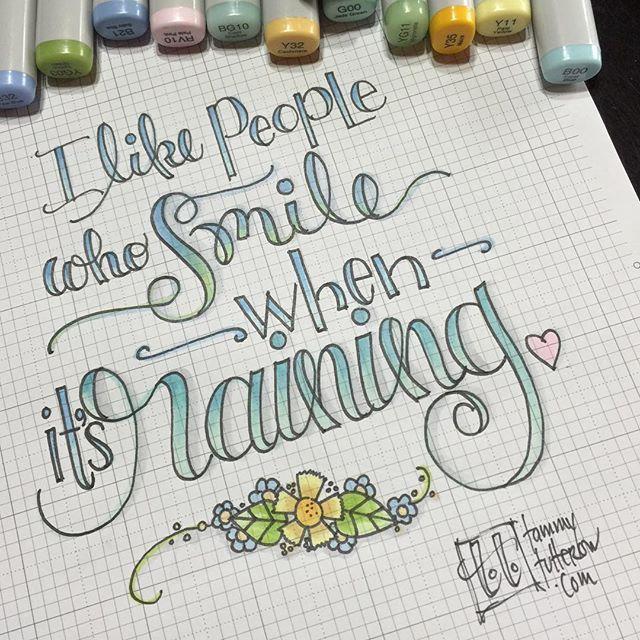 Hand-Lettering inspiration - theartsyboho
