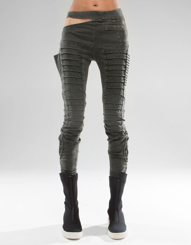Don't love the slit on the hip, but I adore the tucked panels