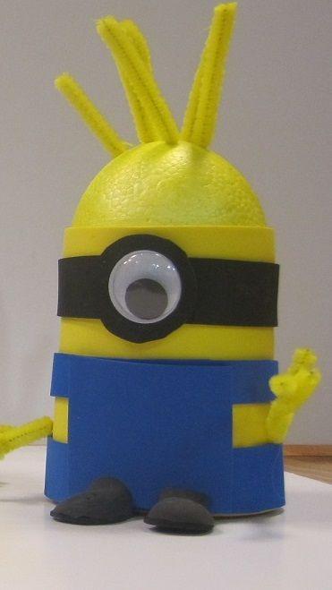 Kom nu alle spullen en de beschrijving halen in de Hobbyshop Woerden! - #minion #mionios #knutselen #kinderen #oog #geel #blauw #plakken #knippen #schattig #foam #piepschuim #ragepijp #ookinhetpaars #hobbyshopwoerden #hobbyshop #woerden - Hobbyshop Woerden  0348 430 411  http://www.hobbyshopwoerden.nl http://www.facebook.com/hobbyshopwoerden
