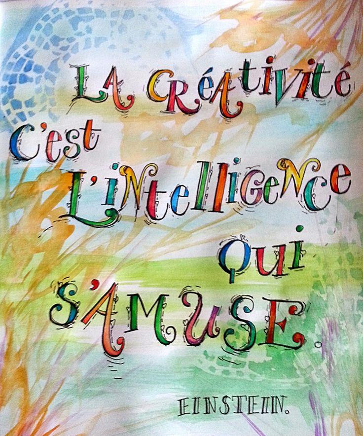 Lettres et couleurs: La créativité