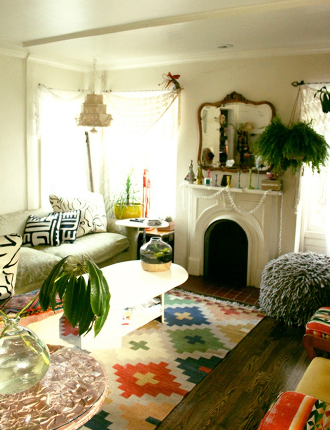 High Quality Justina Blakeneyu0027s Beautiful Home. Colorful RugsBohemian ...