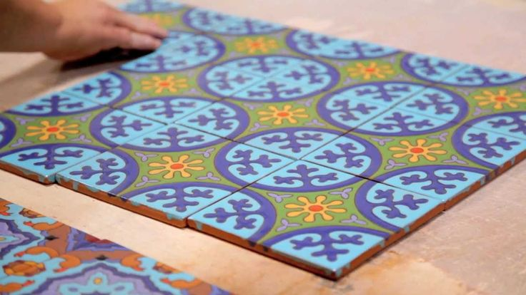 Cuerda Seca is an ancient technique of handpainting ceramic tile. We make our Cuerda Seca handpainted tiles in our Aromas, California factory using either ou...