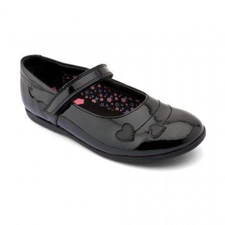 Saskia, Black Patent Girls Riptape School Shoes - Girls School Shoes - Girls Shoes http://www.startriteshoes.com/girls-shoes/school-shoes/saskia-black-patent-girls-riptape-school-shoes