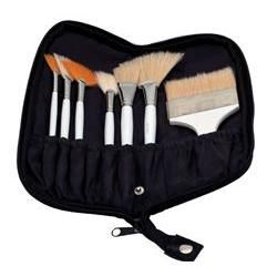 Synthetic Body Brush Set, 7Pc - Brushes - Massage Supplies | Massage Warehouse