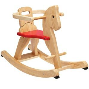 Rocking Horse And Rider Wooden Toy Plan - Voice Of The Monkey