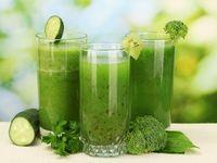 Zöldturmix italok