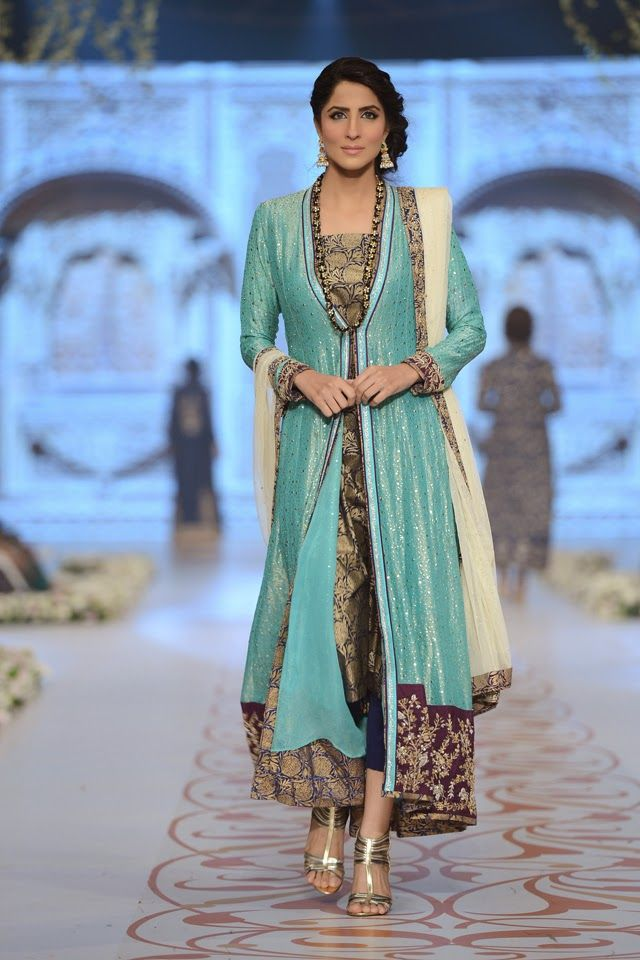 Fashion: Nida Azwer Bridal Collection at Pantene Bridal Couture Week 2014