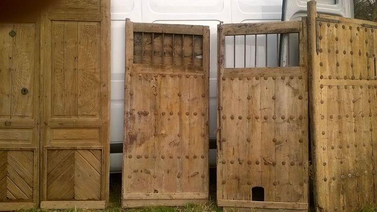 Feria desembalaje cardedeu genoves atelier antiguas - Puertas de madera antiguas ...