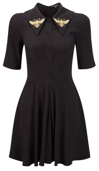 Coco Fennell Black Bee Dress. I love the look of it, but dont think I would wear it myself