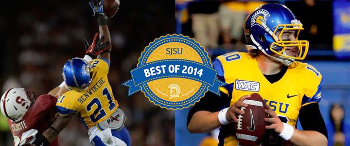 Best of 2014: Spartans head to the NFL! The Carolina Panthers and the Chicago Bears felt the Spartan Pride with draft picks Bené Benwikere and David Fales. #sjsu #bestof2014 http://go.sjsu.edu/nfl-draft-fales