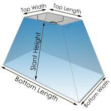 Custom Rectangle Lamp Shade