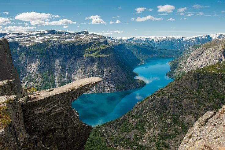 Trolls Tongue, near Moss, Norway-Photo by Ingve Kjosås.