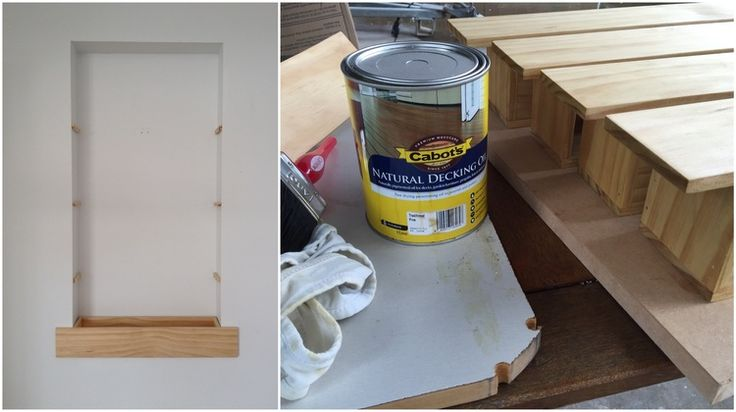 Pearson and Projects - Recessed Planter Box - Brackets and Oil - DIY