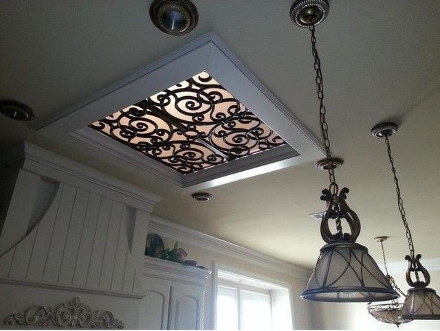 Wrought Iron Faux Skylight Skylight Covering Budget