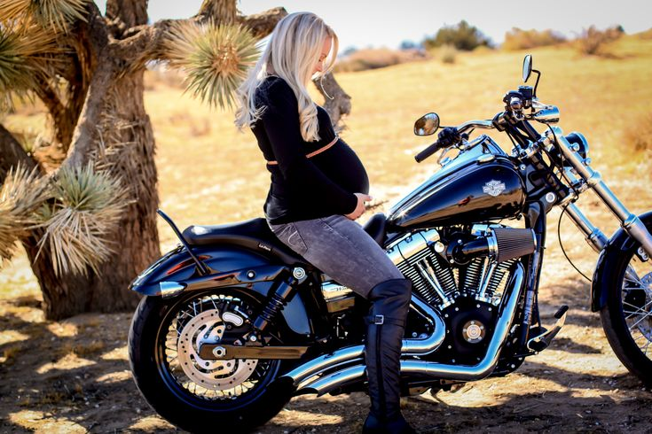 33 weeks, Harley Davidson, Maternity pictures, LOVE. Lacey Marie Photography