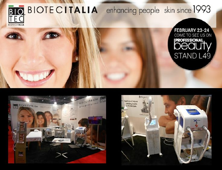 Biotec Italia @ #professionalbeauty in #london #2014