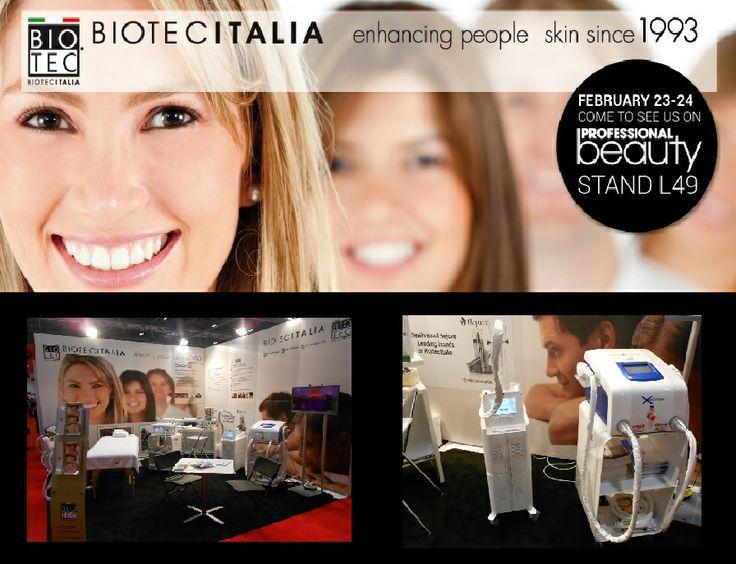Biotec Italia @ #professionalbeauty in #london #2014