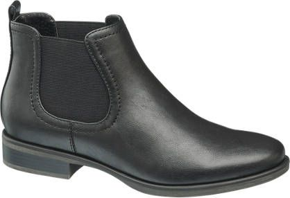 Ladies Chelsea Ankle Boots in Black | Deichmann