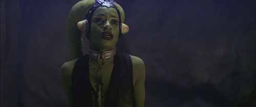 Femi Taylor as Oola from Star Wars Return of the Jedi ...