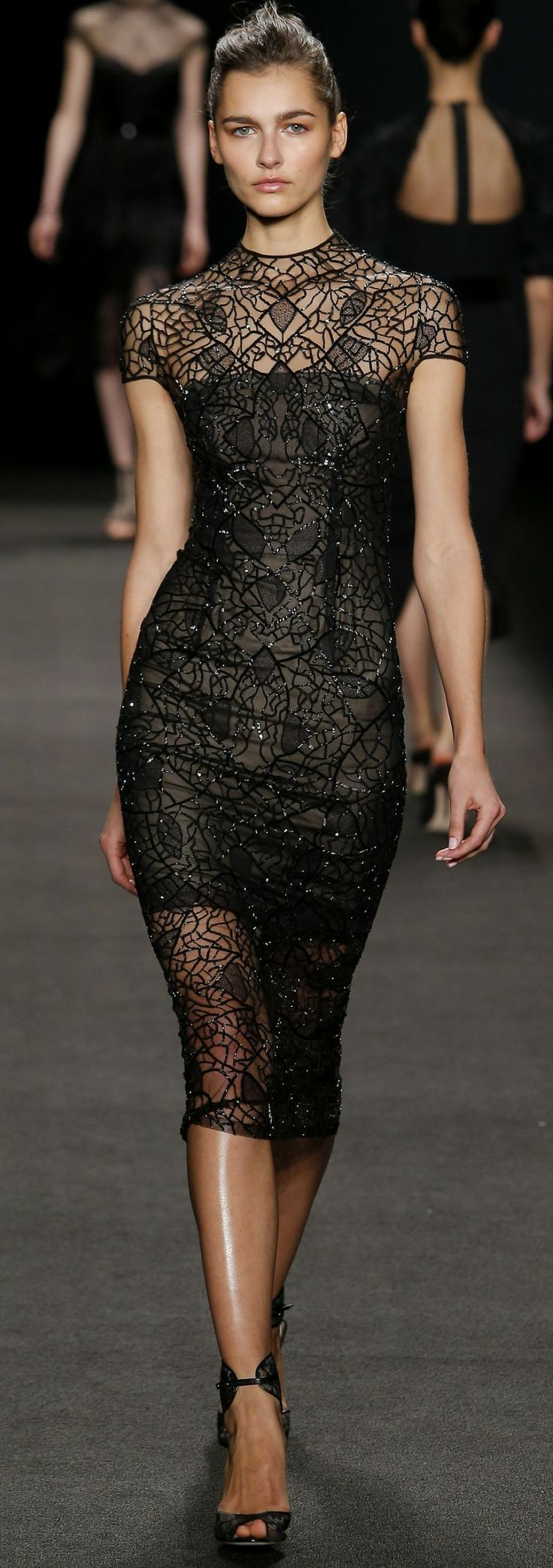 Monique Lhuillier, fall 2014.