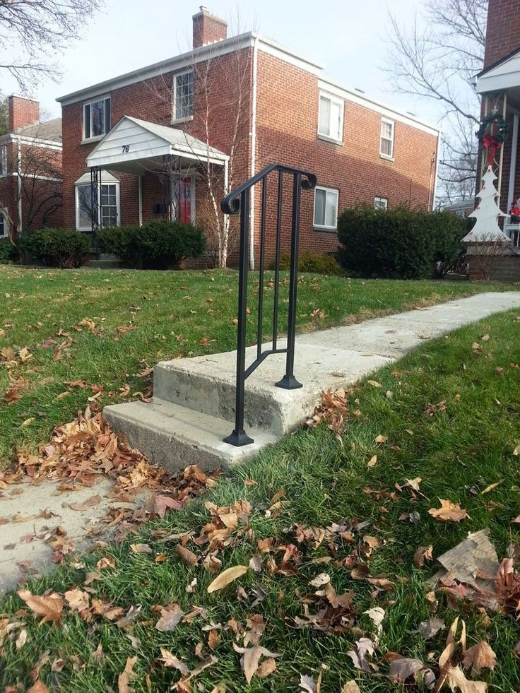 Best Fall Prevention For The Elderly Diy Iron X Handrail Picket 400 x 300