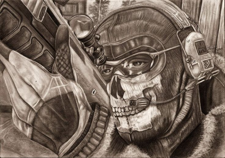 MW2 Ghost WIP Finished by Yankeestyle94 | The heroes of ...
