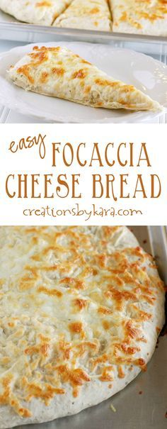My boys love this Cheesy Focaccia Bread so much they will make it themselves. It is so easy and so yummy! Cheese bread is always a perfect side dish!