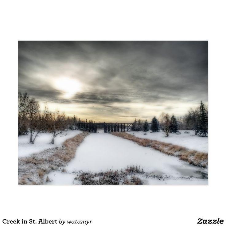 Creek in St. Albert Postcard