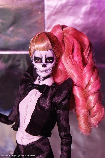 Lady Gaga Born this Way Barbie doll by Chuck Belich by Chuck♥Belich, via Flickr