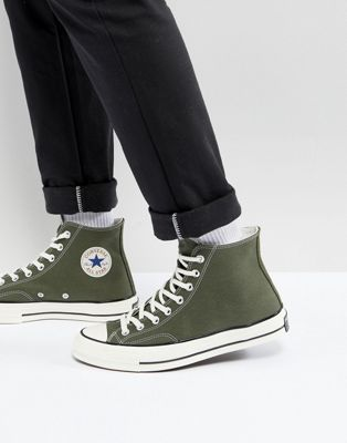 7cf598d96b73d5 Converse Chuck Taylor All Star  70 Hi Sneakers In Green 159771C Street  style fashion  soulclothingwanaka  soulstyle  chucktaylorlife  chucktaylors