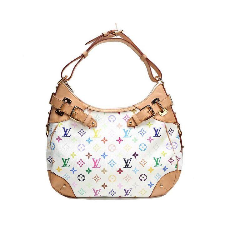 Louis #vuitton Monogram Multicolor Greta M 40195 Bron Ladies Tote Bag
