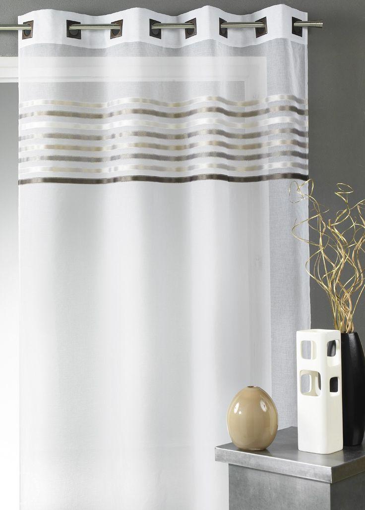 les 25 meilleures id es de la cat gorie stores et rideaux sur pinterest rideaux cuisine. Black Bedroom Furniture Sets. Home Design Ideas