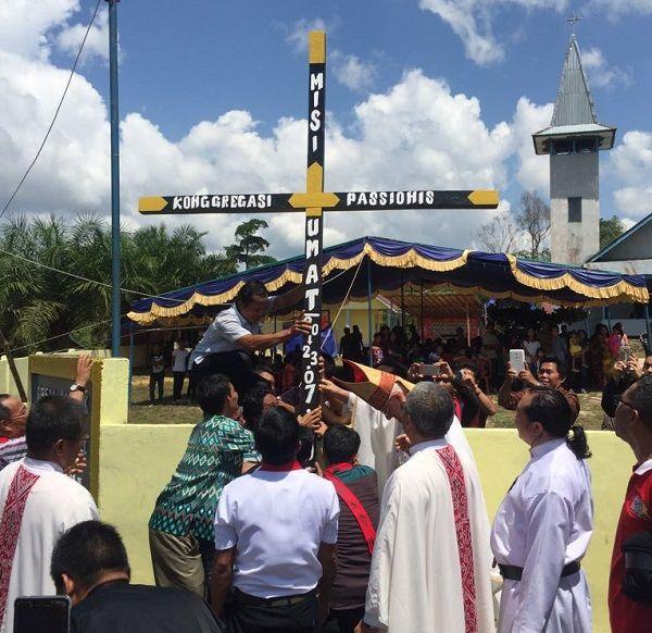 Peringatan 75 Tahun Gereja Katolik Di Tanah Mualang