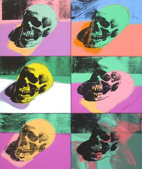 """""""Six Sculls"""" by Andy Warhol"""