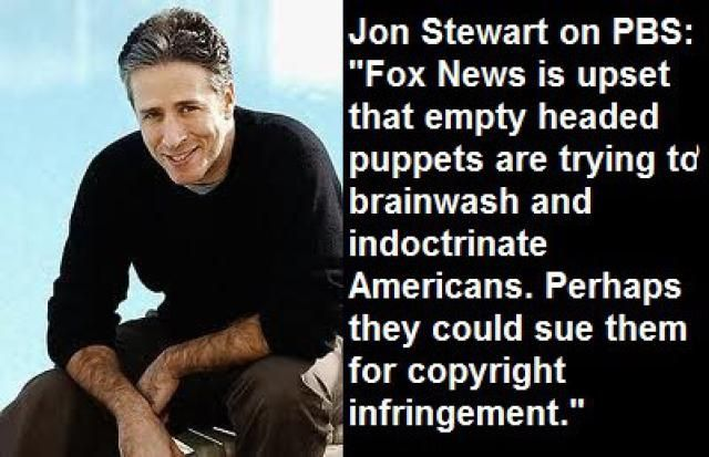 The Funniest Jon Stewart Quotes and Memes: Jon Stewart on PBS vs. Fox