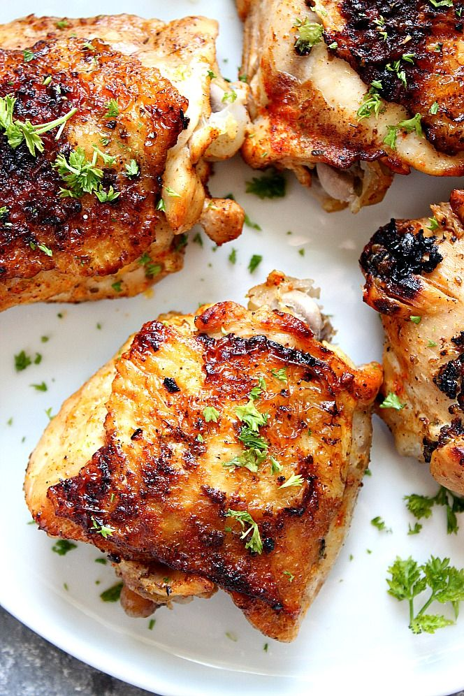 Instant Pot Chicken Thighs Recipe The Best And Easy Way To Cook Bone Instant Pot Chicken Thighs Recipe Instant Pot Recipes Chicken Instant Pot Dinner Recipes