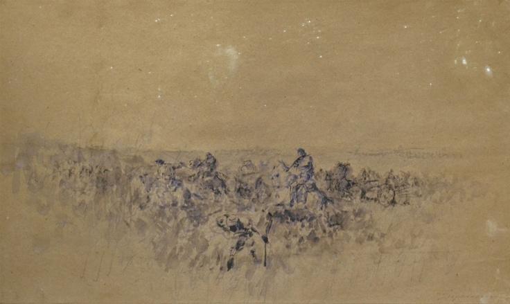 Nicolae Grigorescu - Schiță din Războiul de Independență