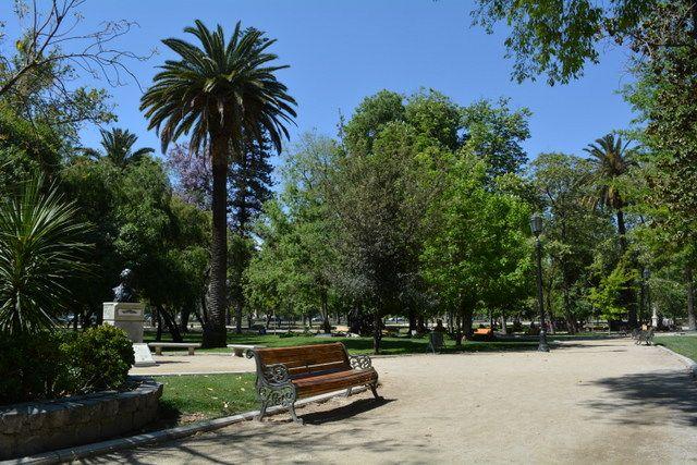 Parque Forestal, en el barrio Centro de la ciudad