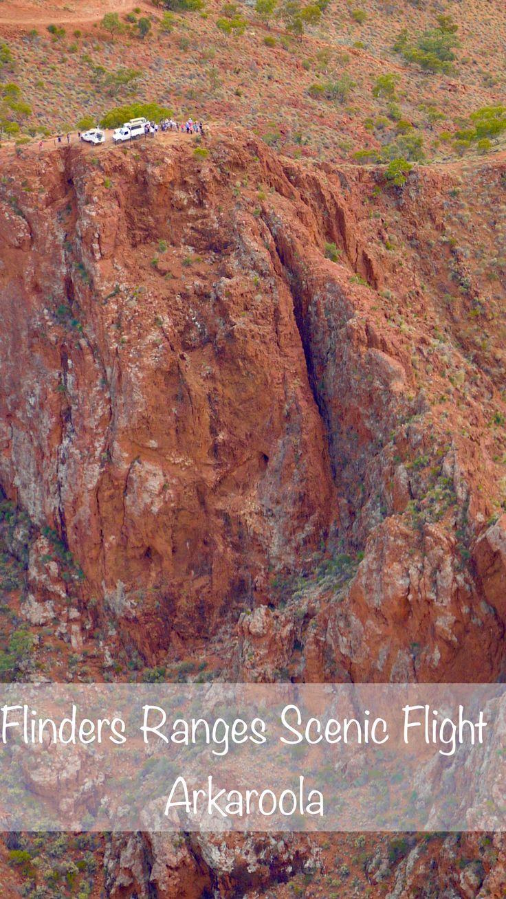 Scenic Flight über die nördlichen Flinders Ranges bei Arkaroola - Südaustralien