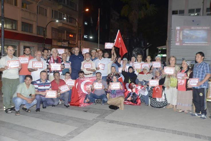 15 temmuz gecesi Devletimize ve Milletimize karşı yapılan hain darbe girişimin ardından başlayan demokrasi nöbetlerinde en canlı…